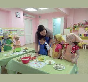 В красноярском садике работает детская кулинарная школа «Весёлые поварята»