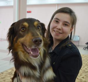 В красноярской школе взяли на работу 40 собак