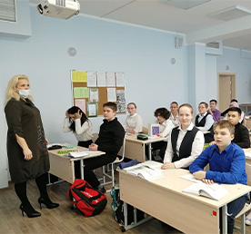 Школьники начали третью четверть в очном режиме