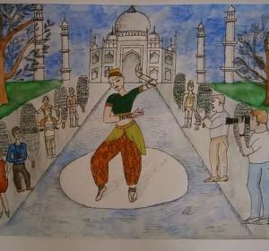 Индийская танцовщица