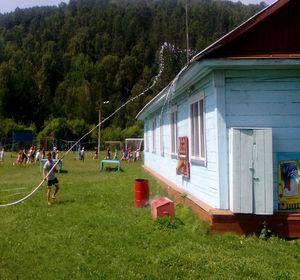учения в лагере