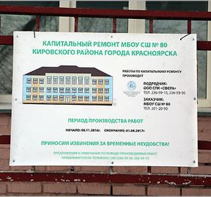 Глава города Красноярска Эдхам Акбулатов: «Контроль капитального ремонта школ должен быть системным и эффективным»