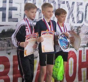 «Победители Всероссийских соревнований «Шиповка юных»