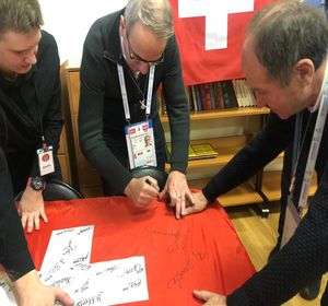 Мэр швейцарского города посетил красноярскую школу