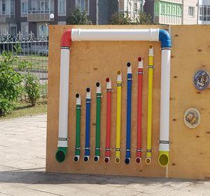 В детском саду установили уличный орган