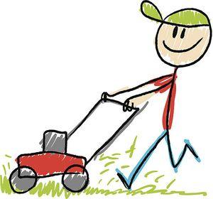 Школьники придумали послушную газонокосилку